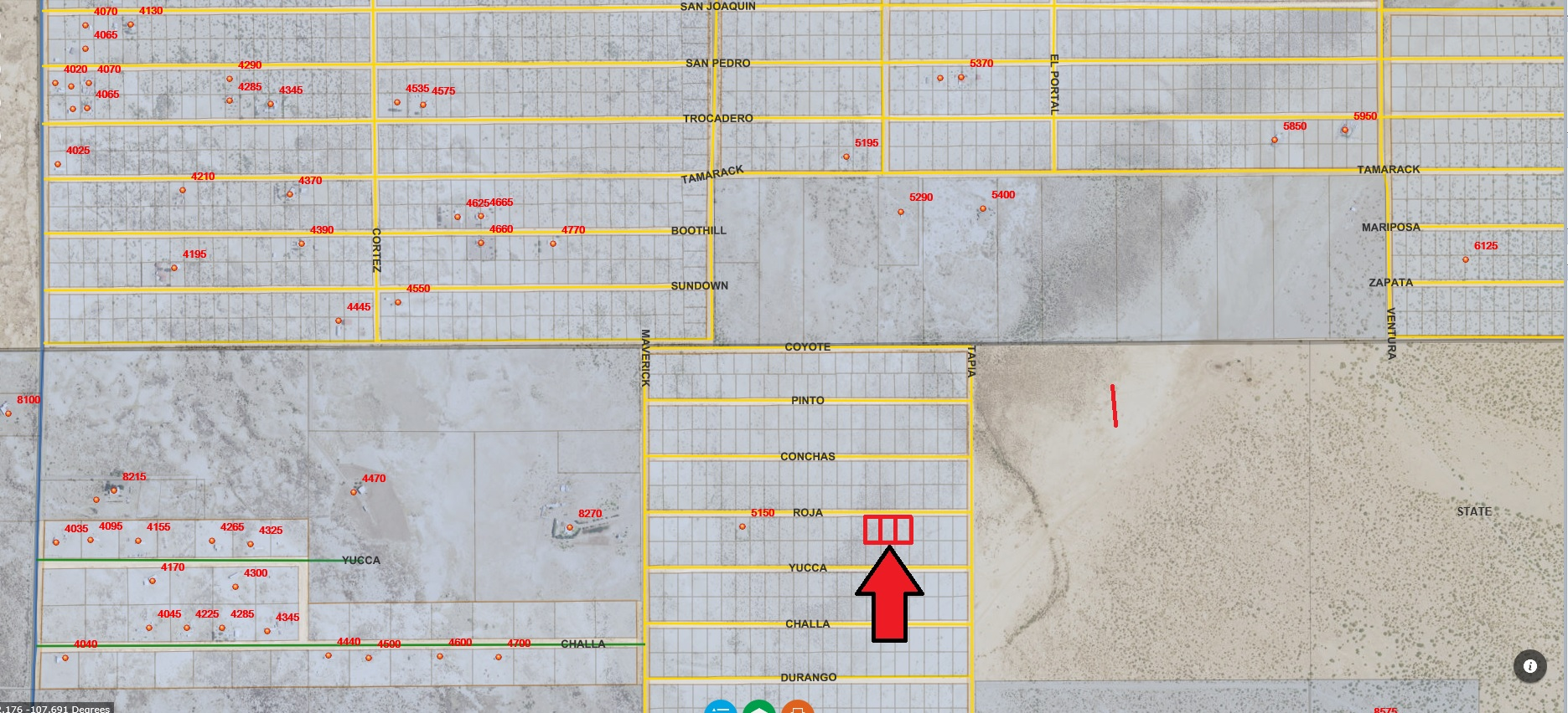 1.5 Acres Deming NM Power on Lots