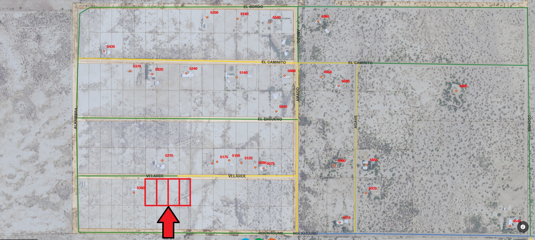 Southwest Homesites 3.86 Acres – Deming NM
