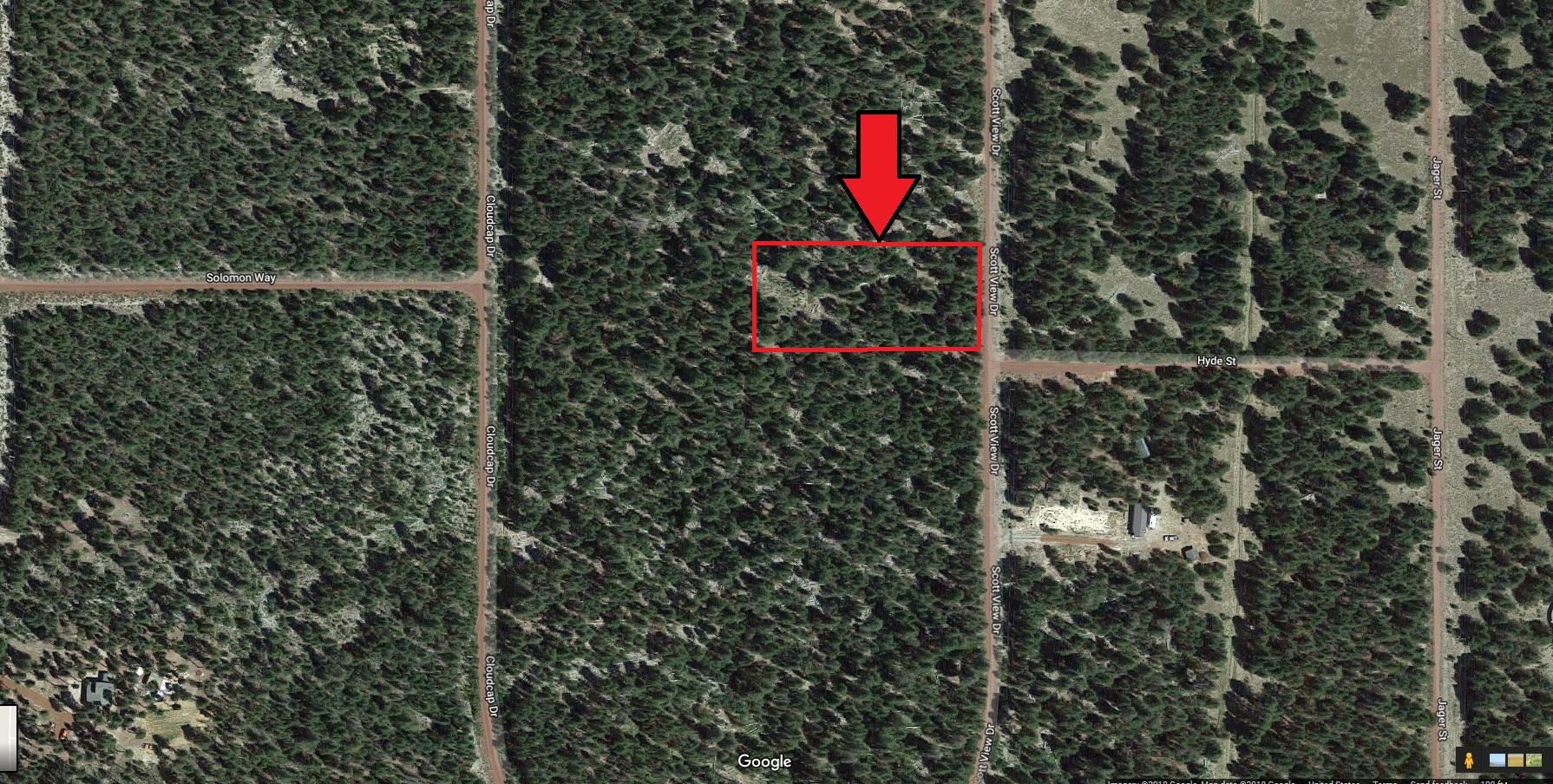 Mt Scott One Acre Near Crater Lake Southern Oregon – Power – HWY 97 – Adjacent Lot Also Available
