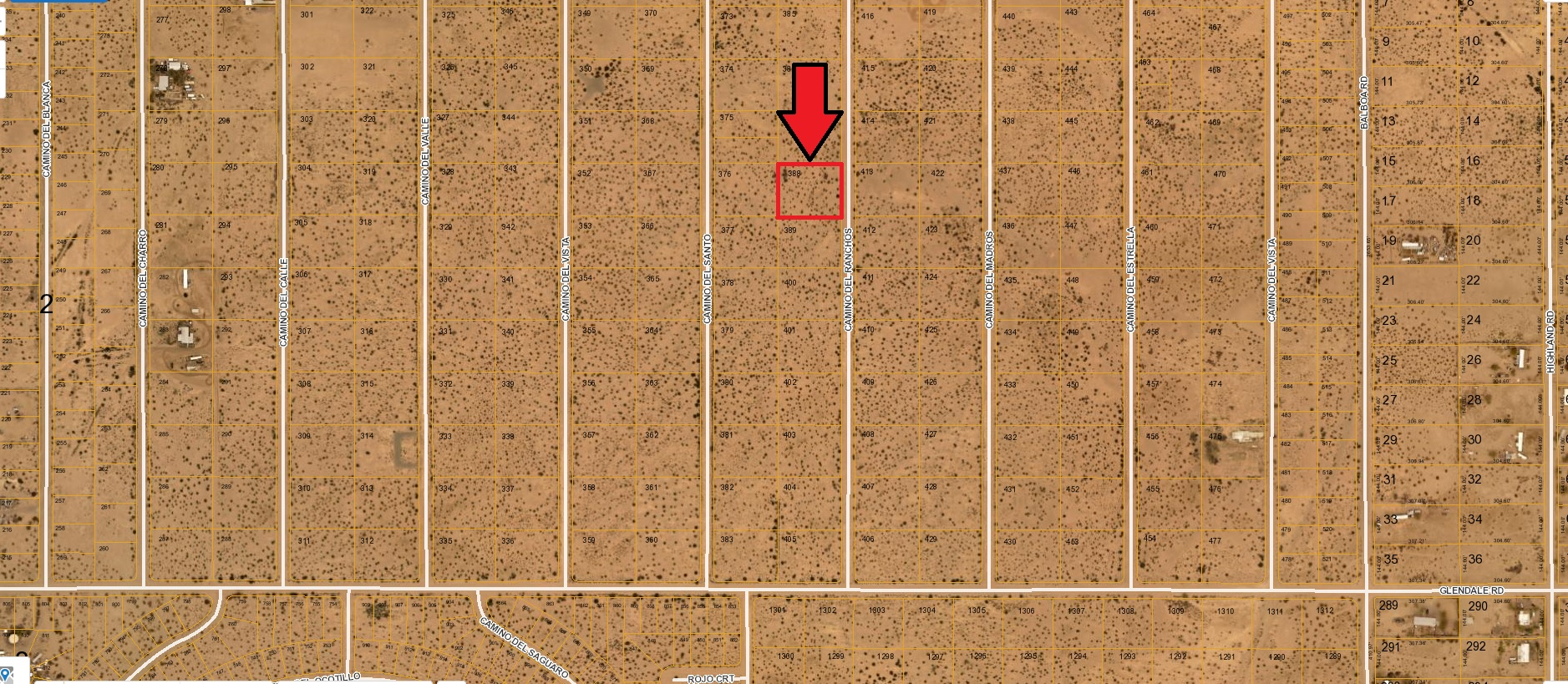 Yuma County – Affordable One Acre Lot for the Snowbird Near Dateland