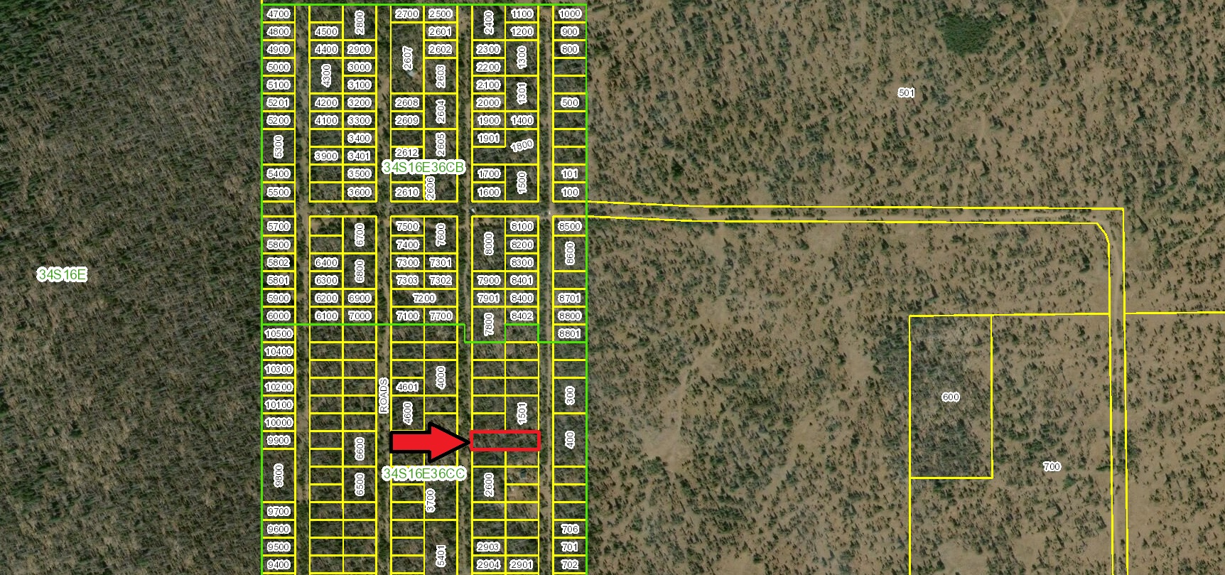 Mountain Lakes RV Pull Through Property – 2 Adjacent Lots