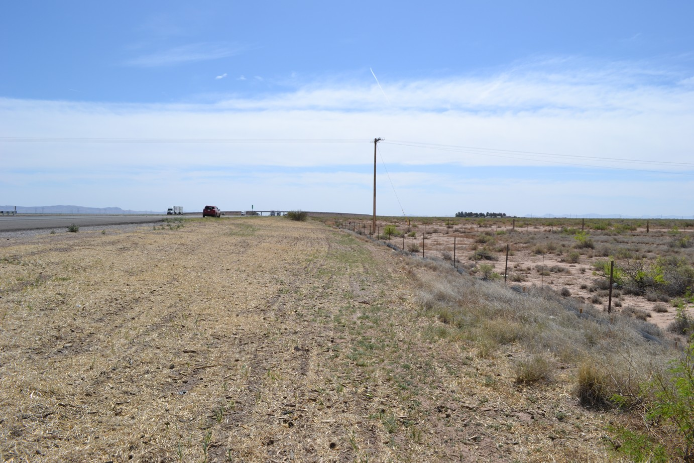 Deming 2 Acre HWY Frontage with POWER – Potential Billboard Lot
