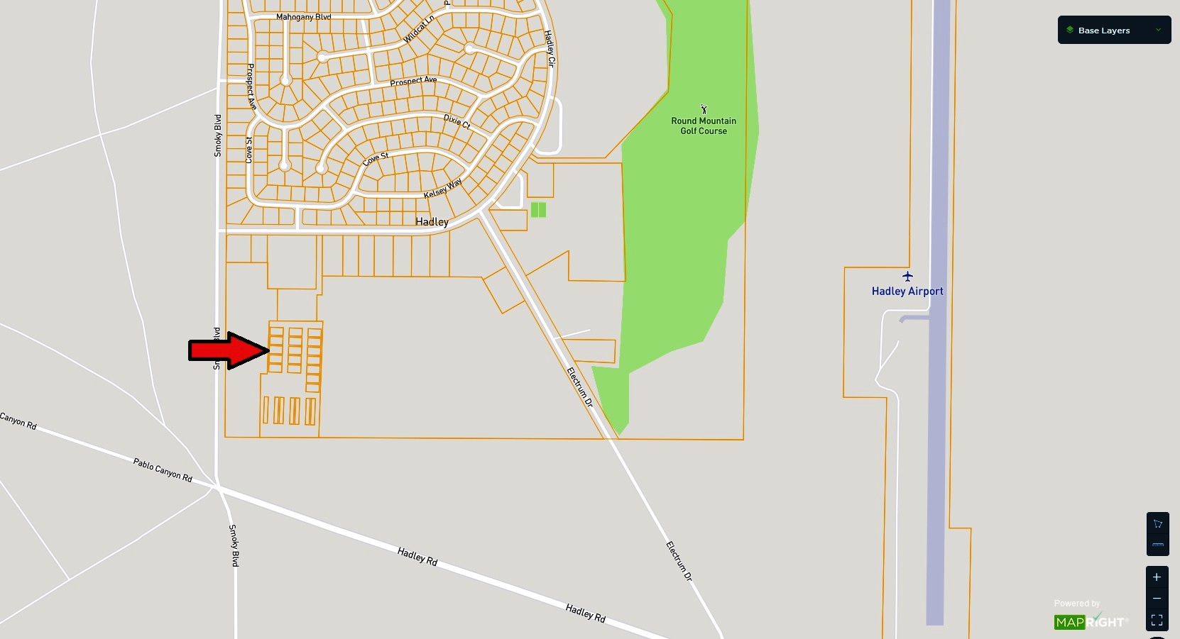 Round Mountain Nevada Raw Land – Hadley Subdivision Stables