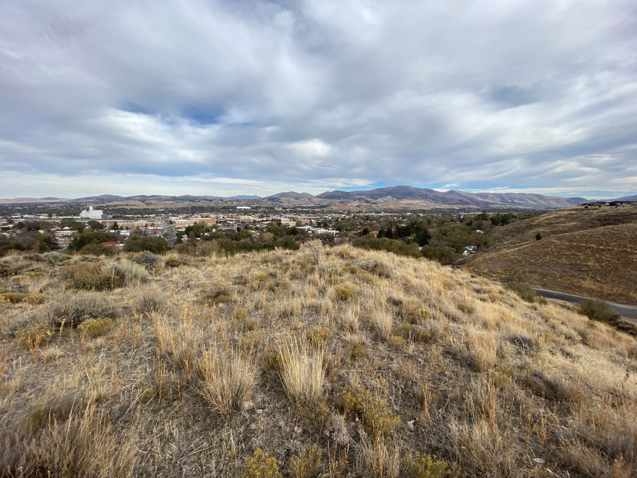 """<span style=""""color: red"""">*CONTRACT PENDING*</span>  - Nearly Two Acre Hillside View Lot in Pocatello"""