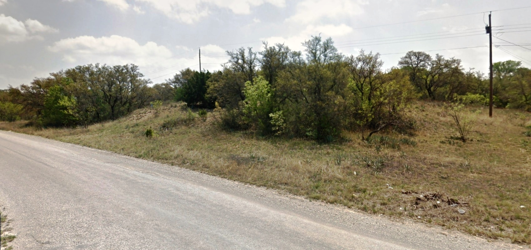 Two Adjacent Residential Lots with Power Near Lake Brownwood