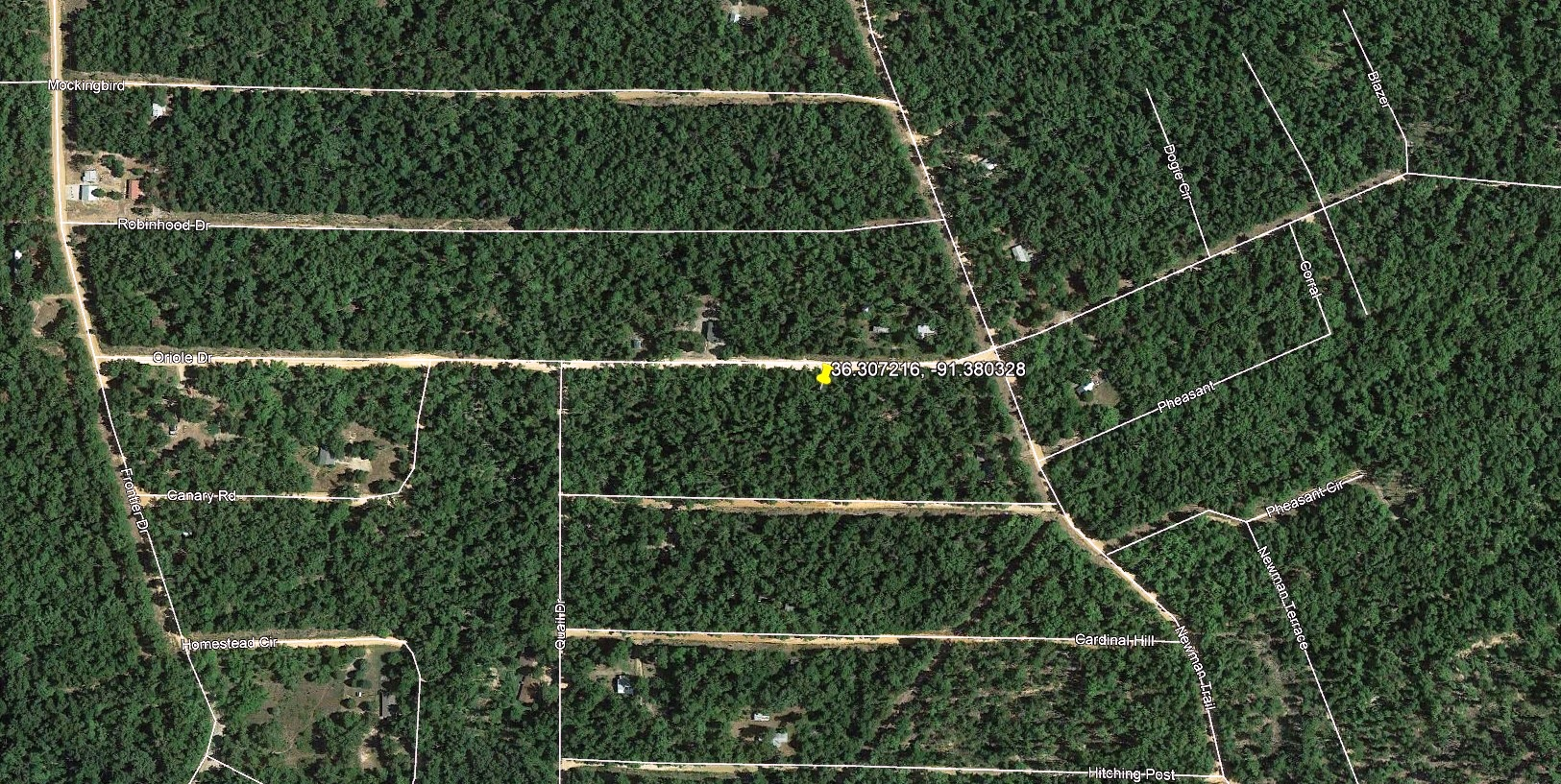 """<span style=""""color: red"""">*SOLD*</span>  - Unrestricted Lot in Ozark Acres – Camping Potential – Power Available"""