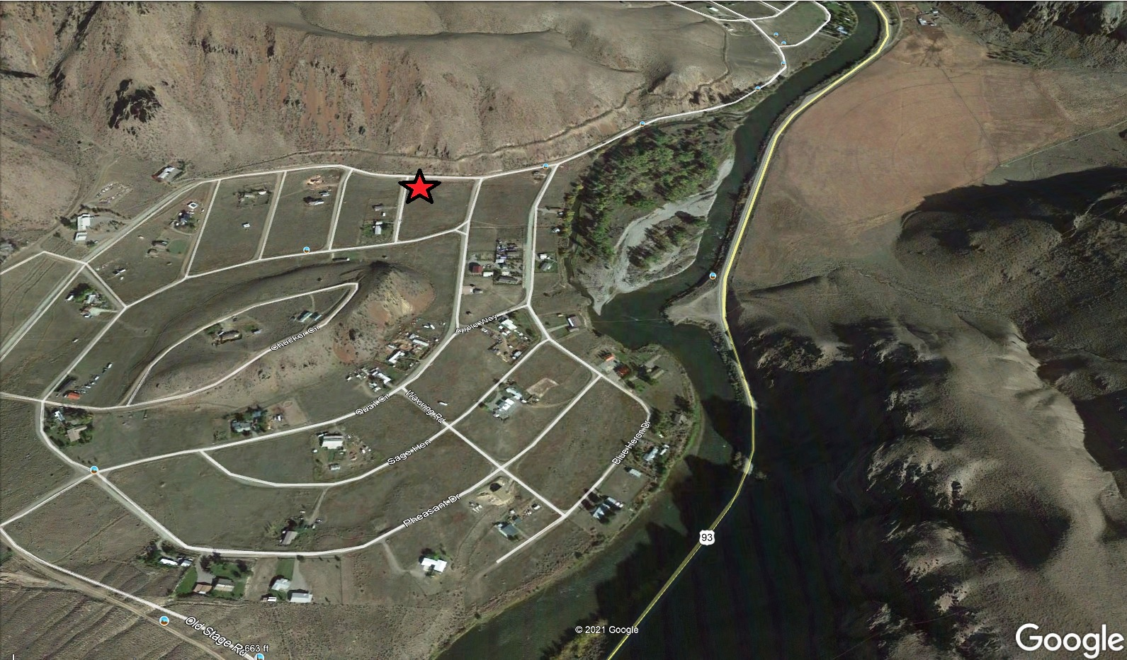 Salmon Idaho Area Recreation Lot – Camp Up to Six Months – Corner Lot – Power Available