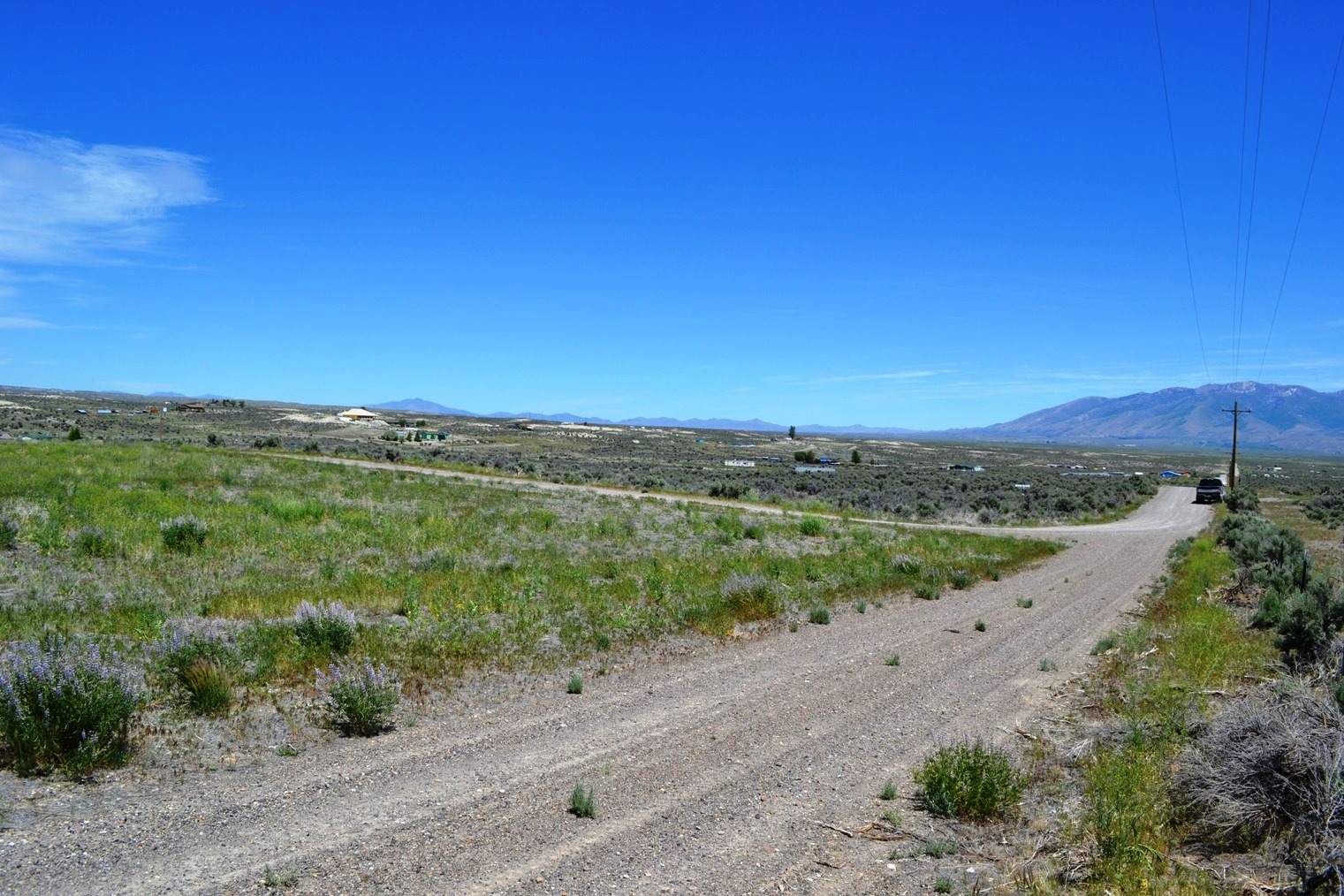 Northern Nevada Building Lot – Corner – Power & Septic Installed