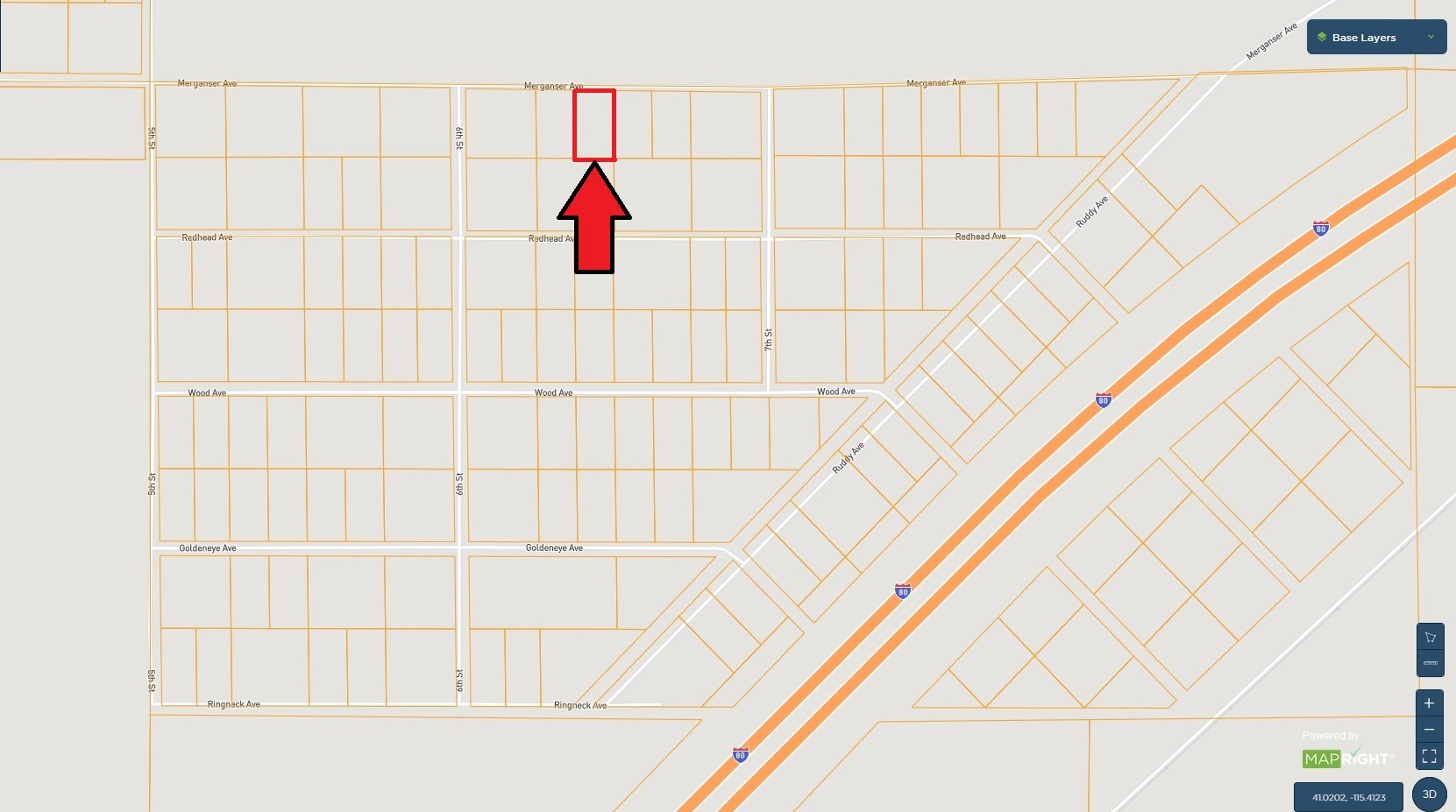 Northern Nevada Lot – Power Available – Spectacular Views – Adjoining Lot Also Available