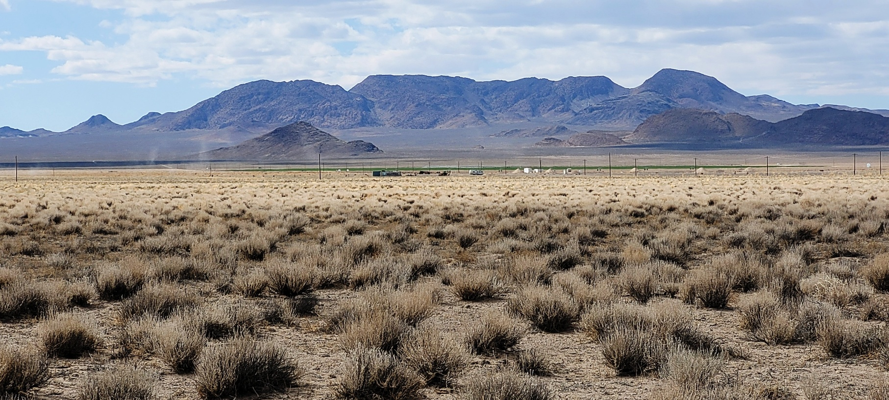 Large Building Lot in Rachel, NV – Over Two Acres